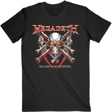MEGADETH: Killing Is My Business (Back Print) Unisex T-shirt (black)