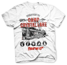 Friday The 13th: Camp Crystal Lake Unisex T-Shirt (White)