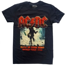 AC/DC: Blow Up Your Video Unisex T-shirt (black)
