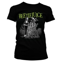 BEETLEJUICE: Headstone Girly Tee (black)