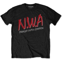 N.W.A.: Straight Outta Compton Unisex T-shirt (black) (XXL)