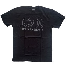 AC/DC: Back In Black Unisex T-shirt (black)