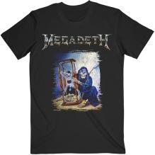 MEGADETH: Countdown Hourglass Unisex T-shirt (black)
