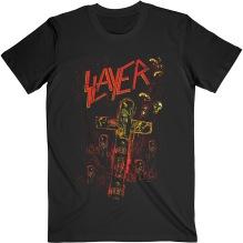 SLAYER: Blood Red Unisex T-shirt (black)