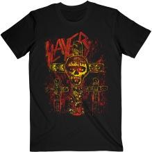SLAYER: SOS Crucifiction Unisex T-shirt (black)