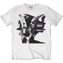 SLIPKNOT: Iowa Goat Shadow (Back Print) T-shirt (white)