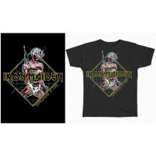 IRON MAIDEN: Somewhere In Time Diamond Unisex T-shirt (black)