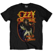 OZZY OSBOURNE: Diary Of A Mad Man Unisex T-shirt (black)