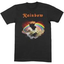 RAINBOW: Rising Unisex T-shirt (black)