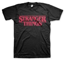 Stranger Things: Logo Unisex T-Shirt (Black)