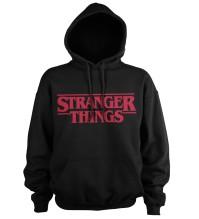 Stranger Things: Logo Hoodie (Black)