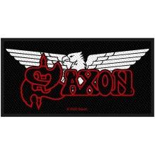 SAXON: Logo/Eagle Standard Patch (tygmärke)