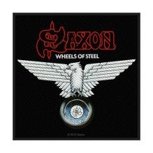 SAXON: Wheels Of Steel Standard Patch (tygmärke)