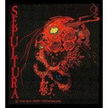 SEPULTURA: Beneath The Remains Standard Patch (tygmärke)