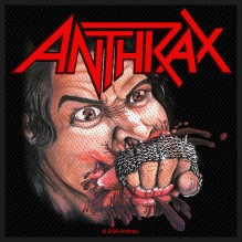 ANTHRAX: Fistful Of Metal Standard Patch (tygmärke)