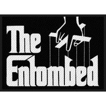 ENTOMBED: Godfather Logo Standard Patch (tygmärke)