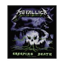 METALLICA: Creeping Death Standard Patch (tygmärke)