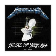 METALLICA: Metal Up Your Ass Standard Patch (tygmärke)