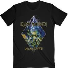 IRON MAIDEN: Live After Death Diamond T-shirt (black)
