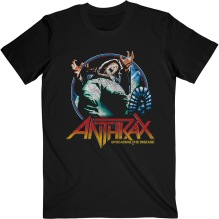 ANTHRAX: Spreading Vignette T-shirt (black)