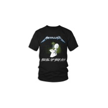 METALLICA: Metal Up Your Ass (Back Print) T-shirt (black)
