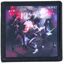 KISS: Alive! Printed Patch (tygmärke)