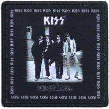 KISS: Dressed To Kill Printed Patch (tygmärke)