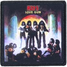 KISS: Love Gun Printed Patch (tygmärke)