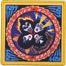 KISS: Rock And Roll Over Printed Patch (tygmärke)