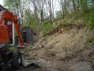 Kabel grävning