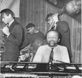 Cecil Taylor Quartet at The Golden Circle, Stockholm. October 1962. Photo: Jonny Gran. Copyright Pressens Bild.