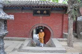 Som invigd munk i Shaolin Tempel besöker ja årligen mina brödrar.
