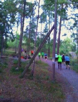 Intervallträning i backe, Saltsjö-Boo