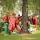 Clowngänget stamgäster i Mullsjö