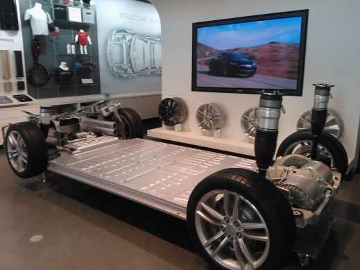 Elbilsbatteri i Tesla Model S