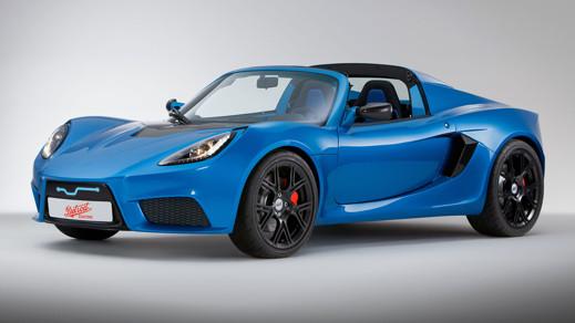 En Tesla Roadster kopia?