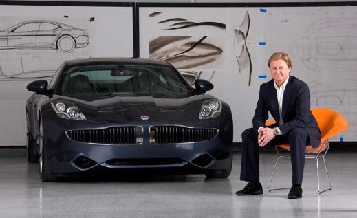 Fisker Automotives fd styrelseordförande - Henrik Fisker & Fisker Karma