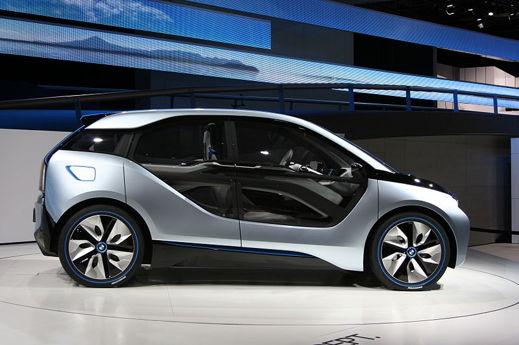 BMW i3 blir BMWs första massproducerade elbil