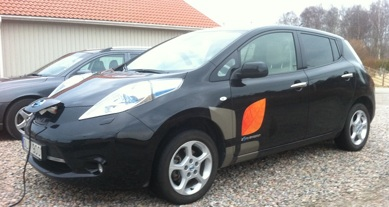 Månadens elbil juni - Gordon Strömfelts Nissan LEAF