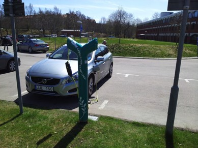 Månadens elbil juli - Bo Normarks Volvo V60 Laddhybrid