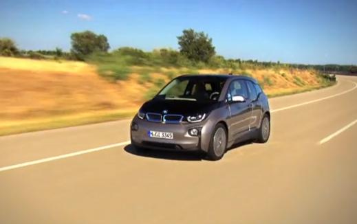 Se videon av omaskerade BMW i3