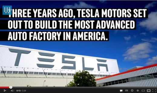 Mer info om Tesla sprids via Wired