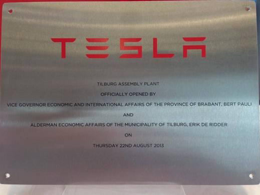 Officiellt invigt och öppet (Foto: Tesla Club Belgium)
