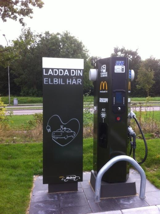 McDrive snabbladdningsstation Ättekulla, Helsingborg