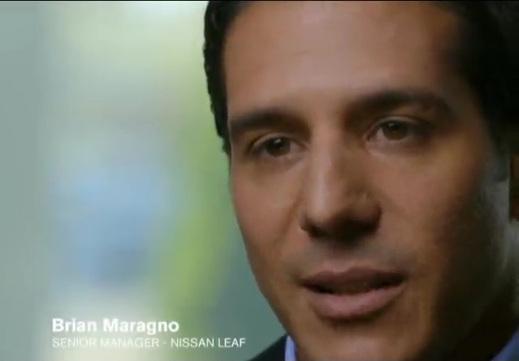 Brian Maragno Senior Manager NISSAN LEAF