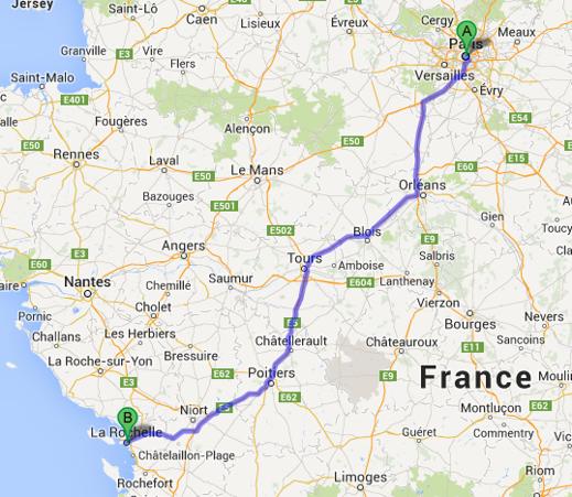 Frankrike blir täckt med 875 snabbladdare hos Renault försäljningsställen