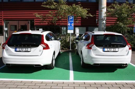 Linköpings universitet satsar att ha en helt fossilfri fordonsflotta 2015