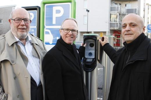 Från vänster Bosse Andersson (C), Lars Bryntesson (S) och Pierre Cengiz-Edstrand (MP