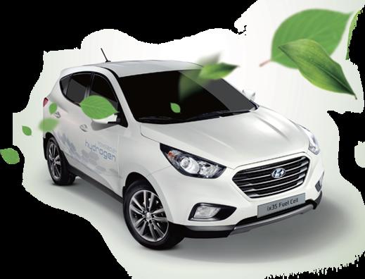 Bränslecellbil från Hyundai