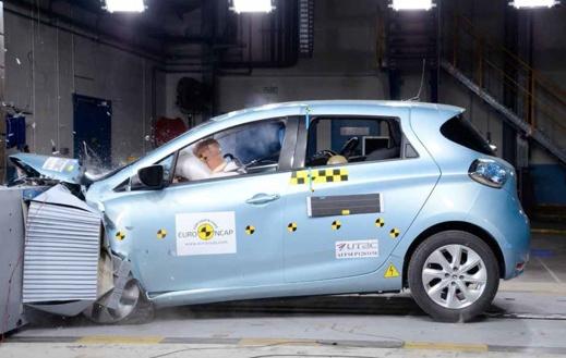 Euro-NCAO har krocktestat Renault Zoe